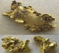 samorodki złota