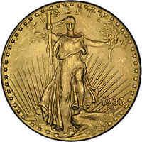 Zobacz złotą 20-dolarówkę, to złota uncja